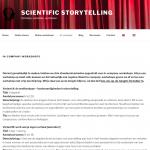 Workshops Scientific Storytelling