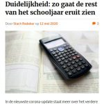 Mobiele weergave van Erasmus in quarantaine