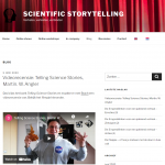 Blogsectie Scientific Storytelling