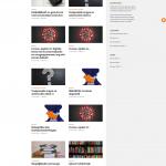 Homepage van Erasmus in quarantaine