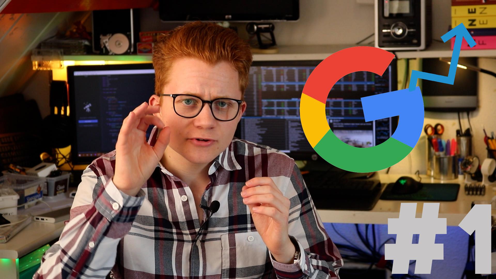 Stach legt uit hoe je hoger in Google kunt komen