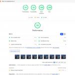 Resultaten Google Lighthouse Gieljan de Vries