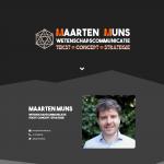 Homepage Maarten Muns deel 1