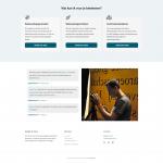 Het tweede deel van de homepage van Gieljan de Vries