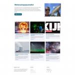 De pagina 'wetenschapsjournalist' op de site van Gieljan