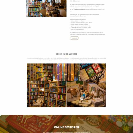 Homepage van Silvester