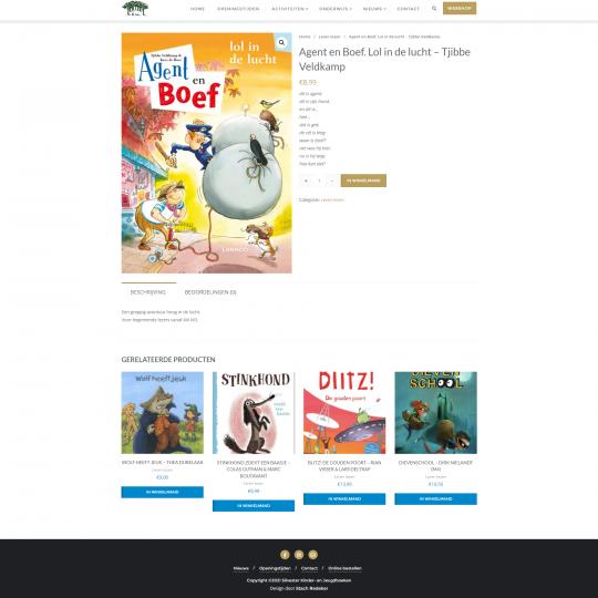 Product in de webwinkel van Silvester
